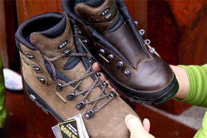 登山靴のお手入れ方法 みがく ...