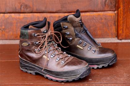 登山靴10年目 太田の登山靴